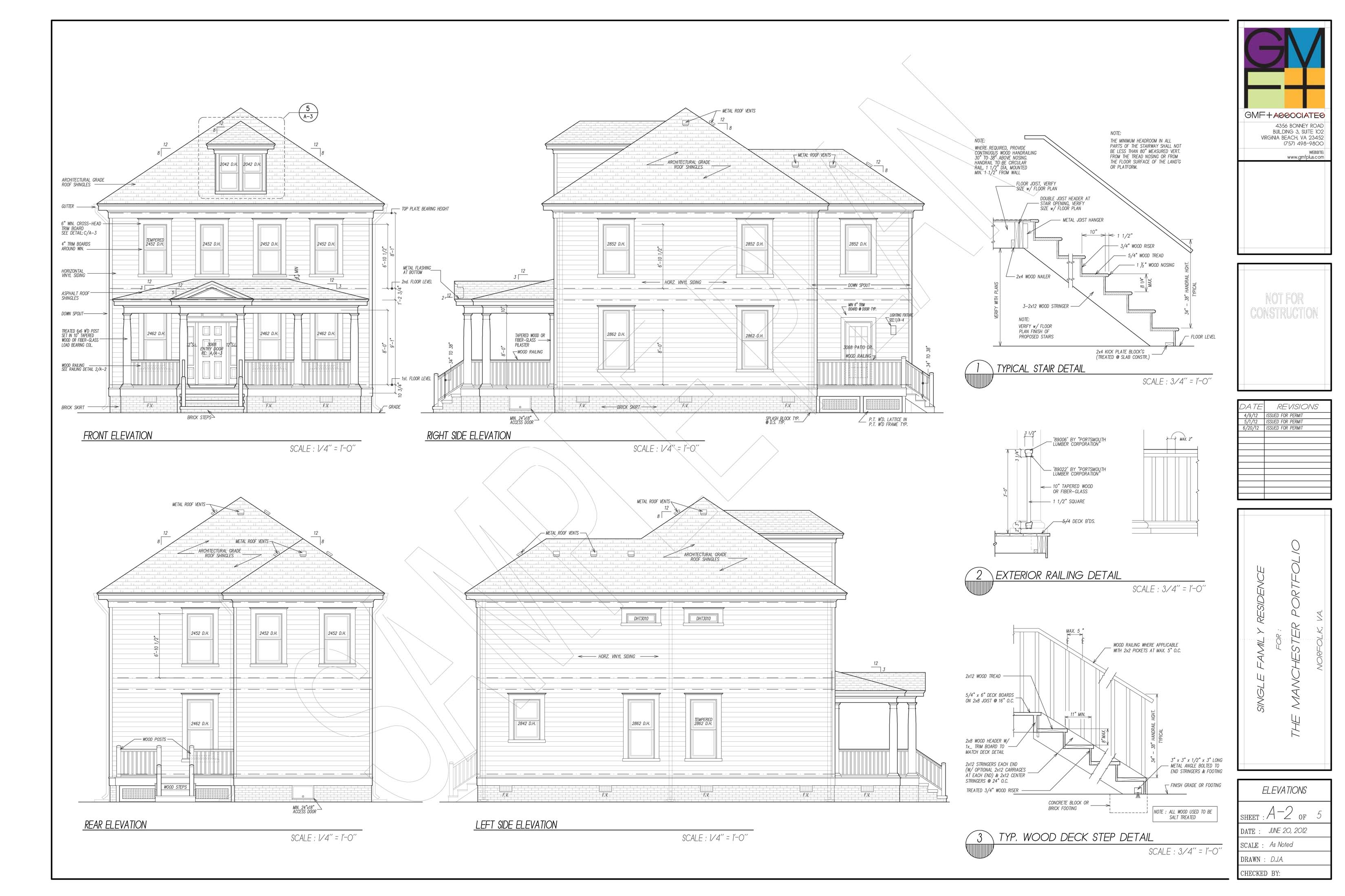 sample plan set gmf architects house plans gmf architects